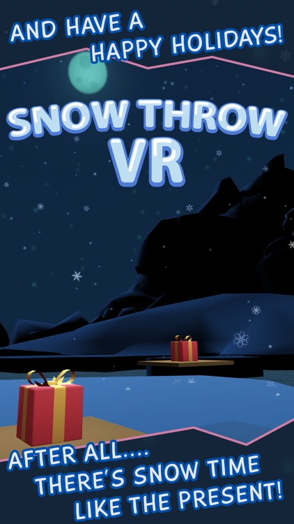 Snow Throw VR