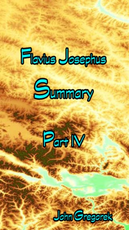 Summary Flavius Josephus (part 4) screenshot-0