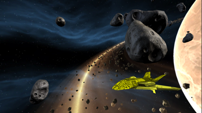 Fly in space screenshot one