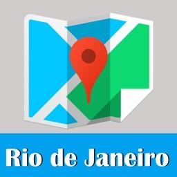 Rio de Janeiro metro transit advisor gps map guide