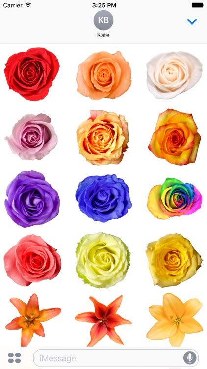Flower Stickerz