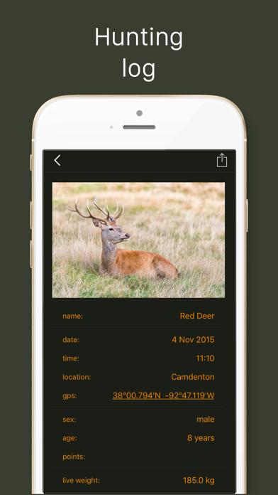 Hunting Calendar LT, best hunting times Screenshot