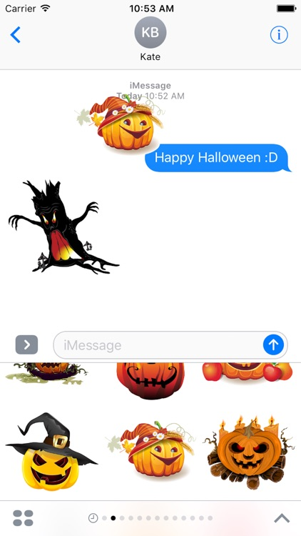Halloween Sticker, Emoji - Fv Pack 04 screenshot-3
