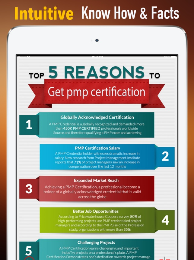 Project Management Professional Certification On The App Store