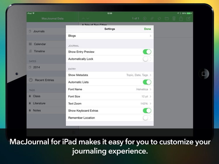 MacJournal for iPad screenshot-4
