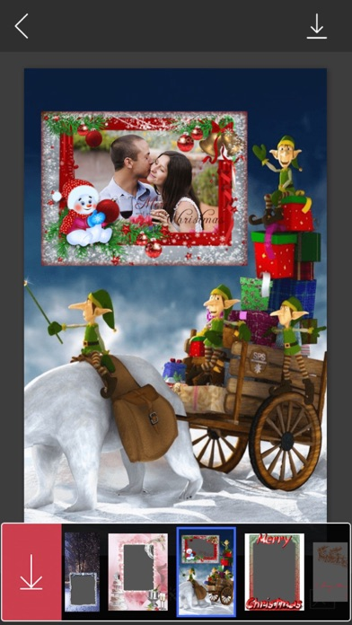 Holiday Xmas Picture Frames Hd Frames Free App Mobile Apps