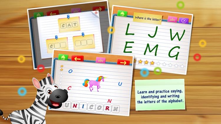 123 Kids Fun ALPHABET Best Learn Alphabet Games screenshot-0