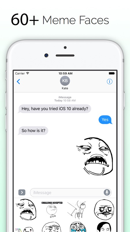3 Minutes to Hack Meme Faces - Memes for iMessage