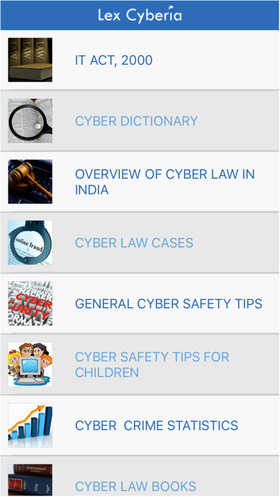 IT Act 2000 & Cyber Law India screenshot one