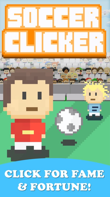 Soccer Clicker - Fast Idle Incremental Free Games screenshot-3