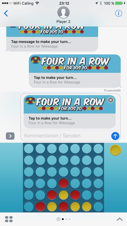 Connect Four in a Row for iMessage
