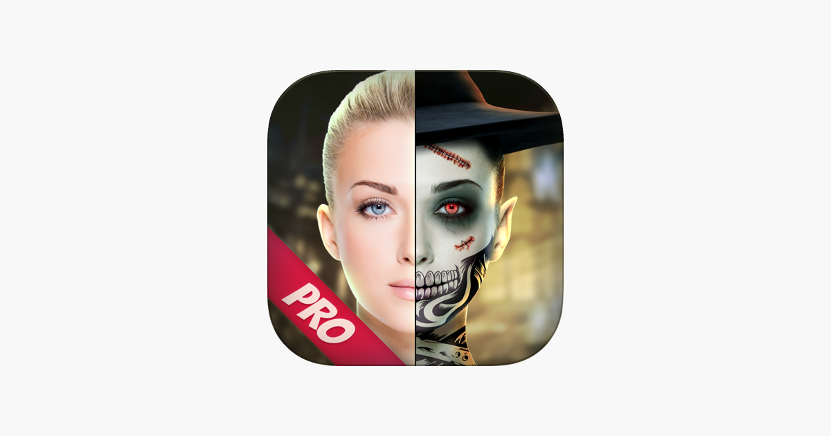 Halloween Makeup Photo Camera Pro en App Store