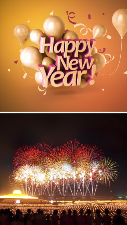 New Year Countdown - Greetings Cards & Wallpapers screenshot-4