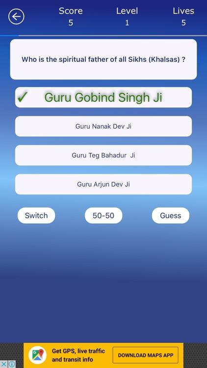 Sikhism Quiz Trivia screenshot-3