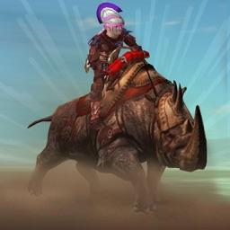 RHINO RACING LEGENDS - ( Top Free Addictive Arcade / Action 3D Animal Racing Fun Game )