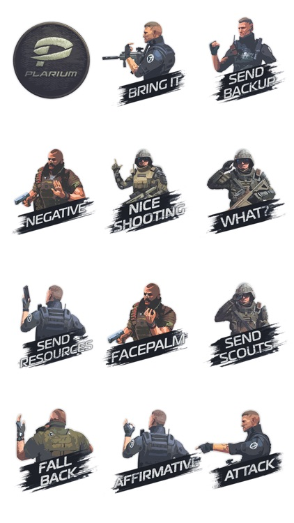 Soldiers Inc. Sticker Pack