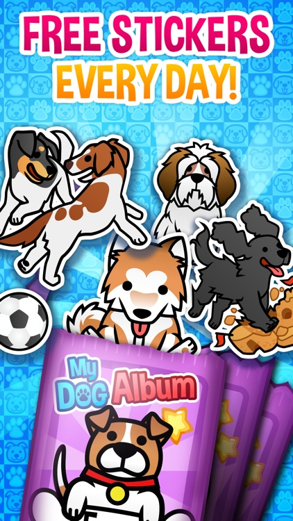 My Dog Album - Pet Sticker Book Game