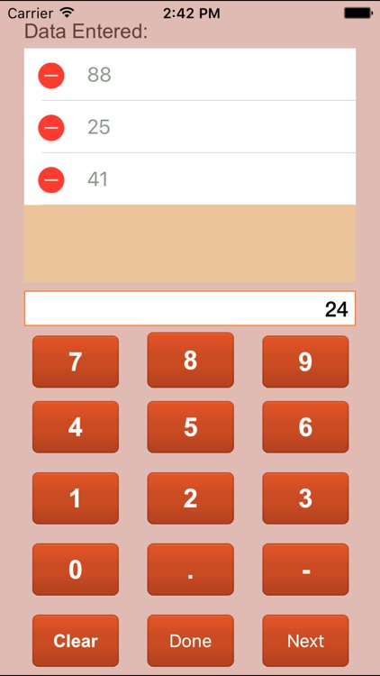 Statistics Calculator Lite