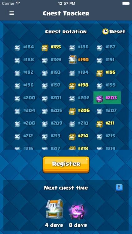 Chest Tracker