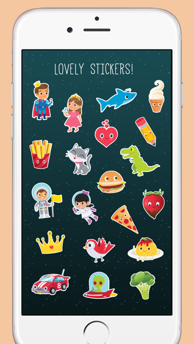 Typic Kids - Stickers for Photosのおすすめ画像5