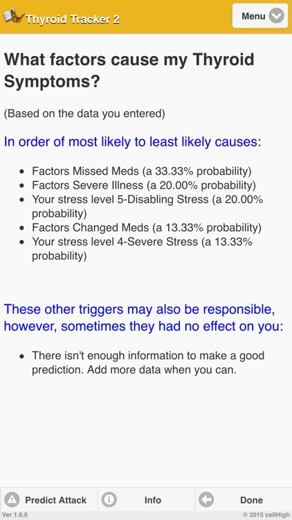 Thyroid Tracker 2 screenshot-3