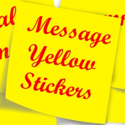 Message Yellow Sticky Notes