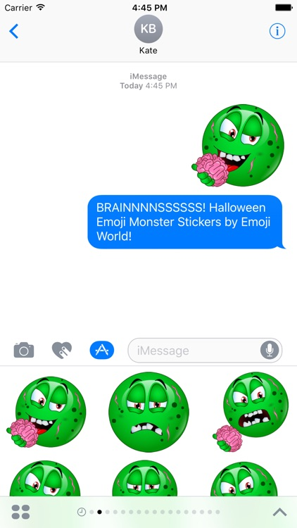 Halloween Emojis 2 - The Monsters! Stickers