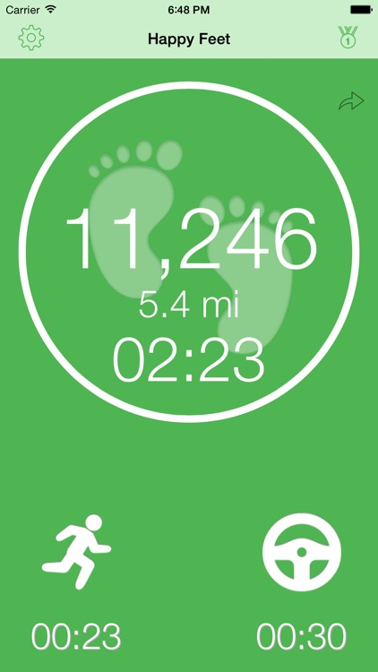 Happy Feet - Motion Activity Tracker screenshot-0