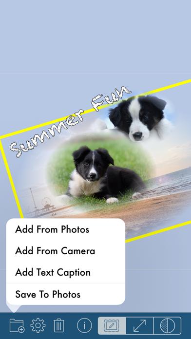 Screenshot #3 pour PhotoTangler Collage Maker