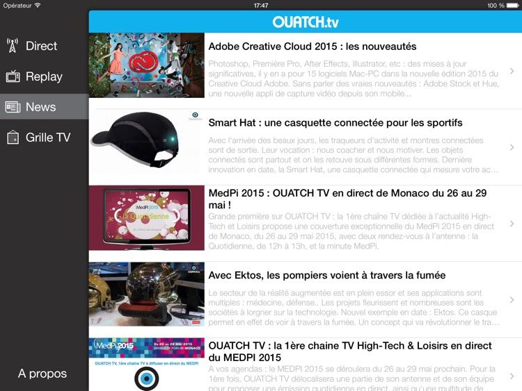 OUATCH TV (HD) screenshot-4