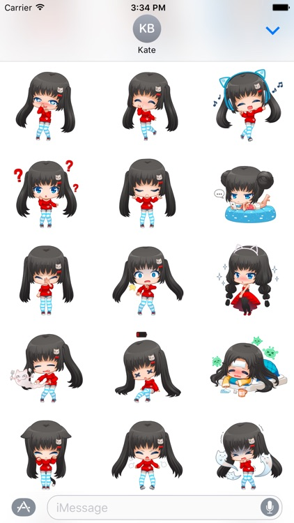 Nyao Nyanko Stickers screenshot-3