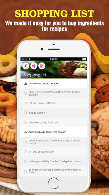 Yummy Cookie Recipes Pro ~ Best of cookie recipes screenshot-3