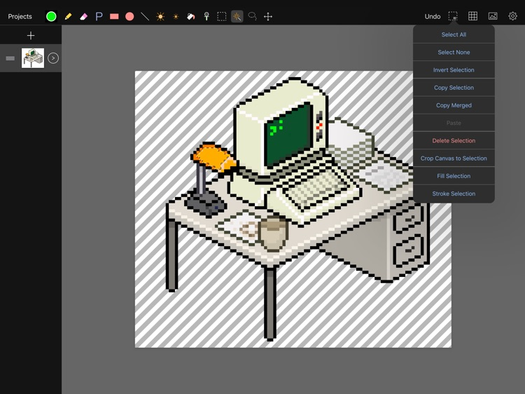 Pixen - pixel art editor screenshot-2