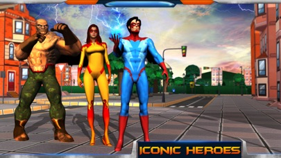 City Heroes 3D: Aliens War screenshot one
