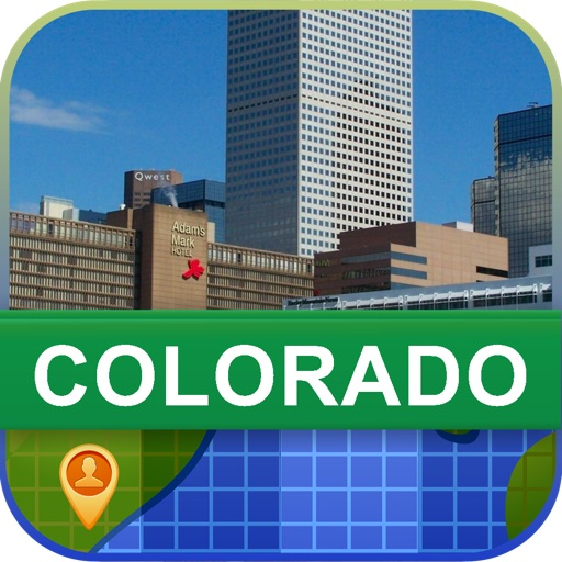 Offline Colorado, USA Map - World Offline Maps
