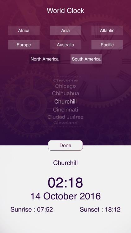 Smart World Clock screenshot-4