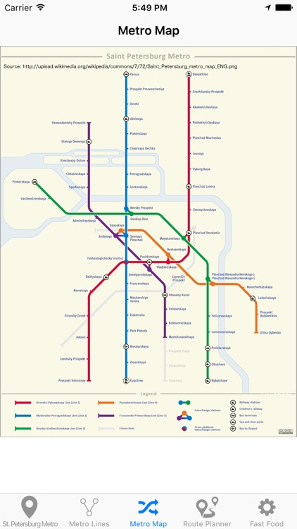 St.Petersburg Metro screenshot-4