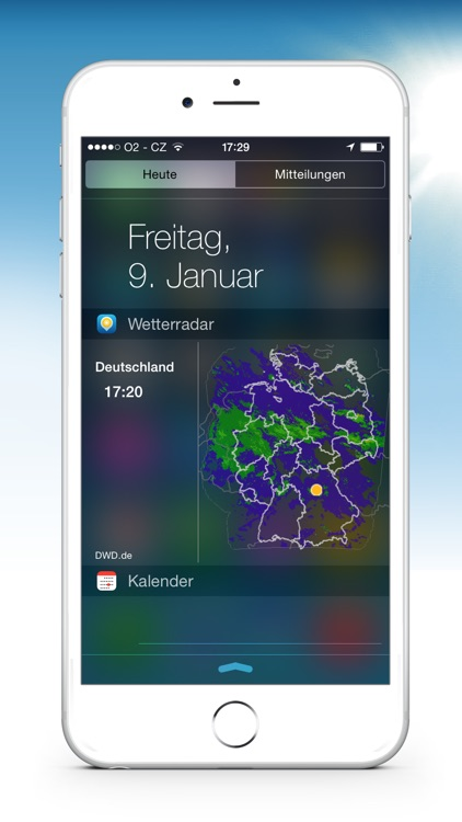 Wetterradar screenshot-1