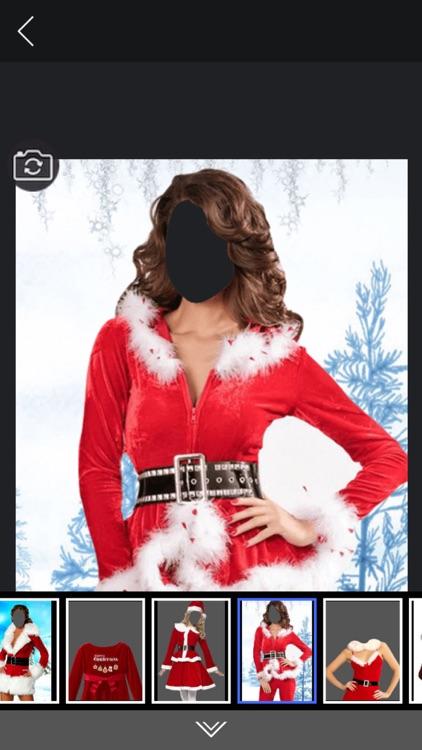 Xmas woman Suits - Photo Montage screenshot-3
