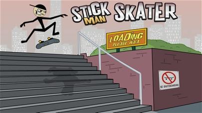 Stickman Skater Free screenshot