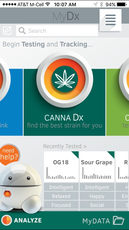MyDx One: Find a Strain that Works for You