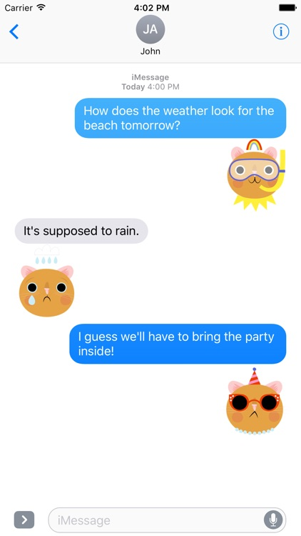 Emoji Pals - Quinn stickers screenshot-1