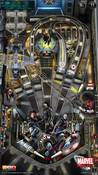 Marvel Pinballのスクリーンショット