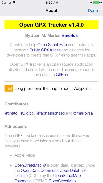 Open GPX Tracker screenshot-3