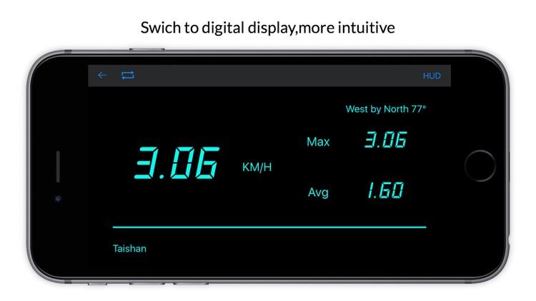 Speedometer Reminder + -Speaking GPS speed tracker