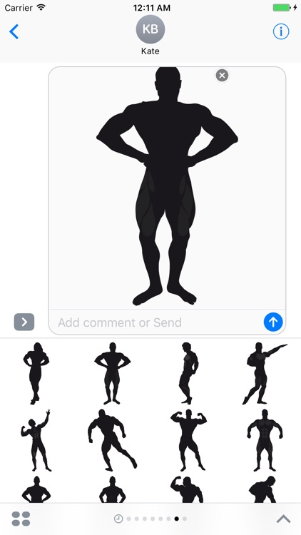 Bodybuilding Stickers screenshot-3