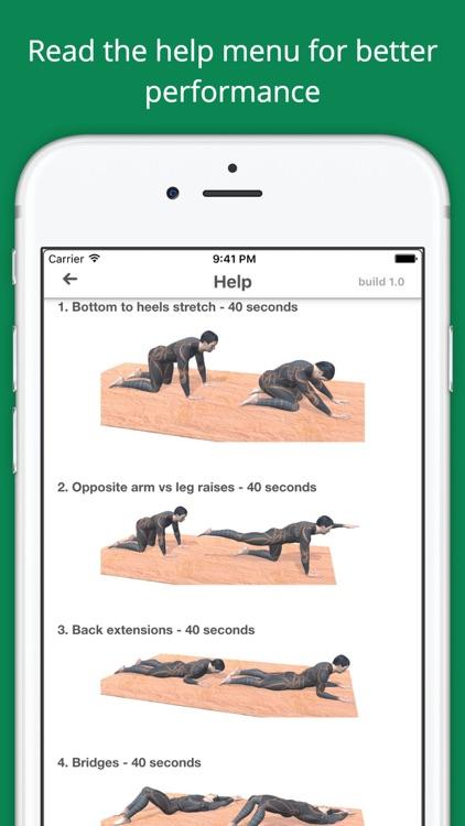 Lower Back Challenge Workout PRO screenshot-4