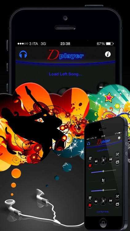 Double Player for Music with Headphones Pro screenshot-3