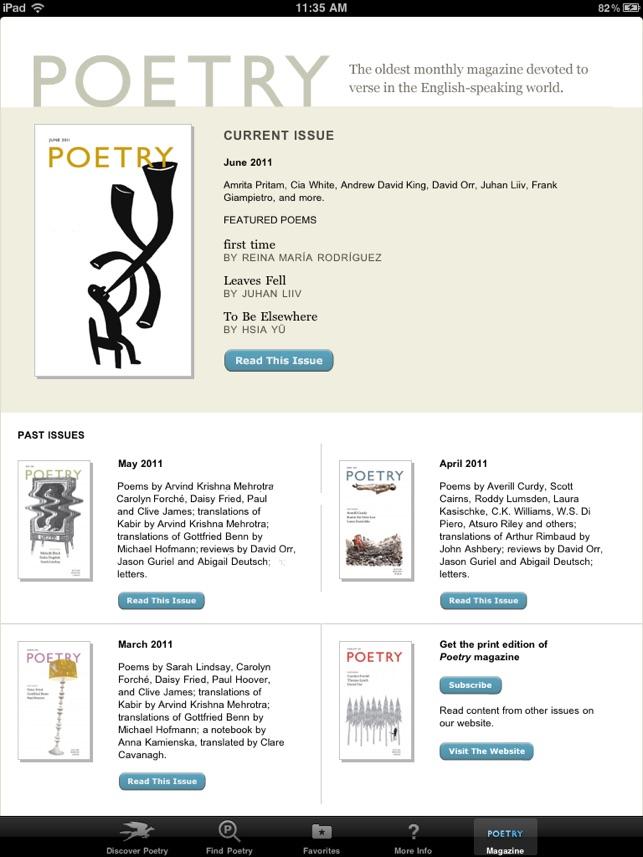 poetry online websites