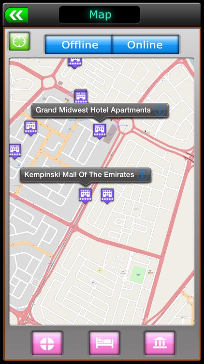 Dubai Offline Map Travel Guide screenshot-1